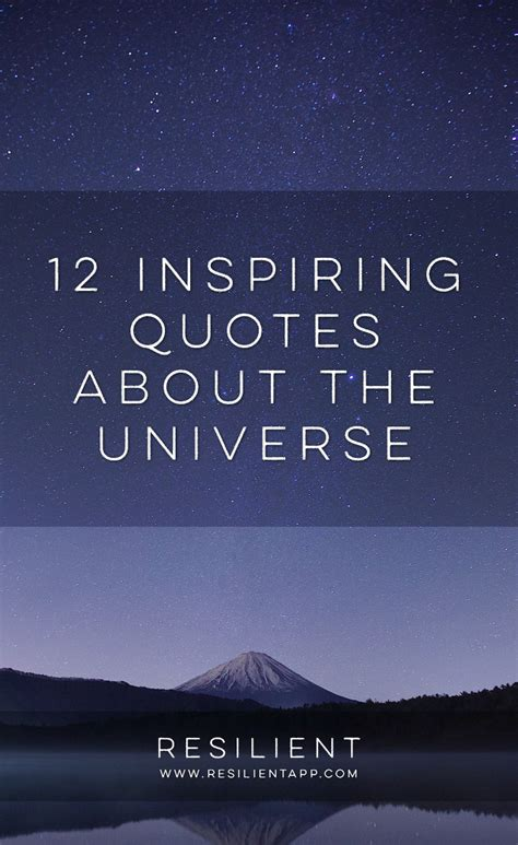 quotes about 12 quotes about the universe