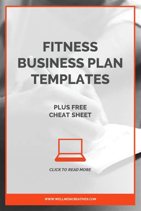 Fitness Business Plan Template by Business Plan Templates Plus Free Sheet Pdf