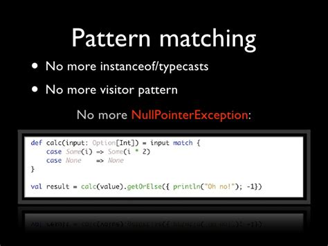 visitor pattern in scala scala functional programming for the imperative mind