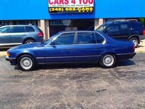 1993 Bmw 740il 2000 Bmw 740il Front Shocks
