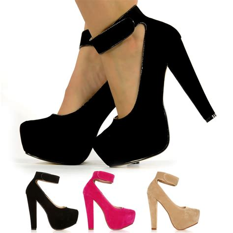 high heels with thick heels bnwt big block high heel thick ankle shoes concealed