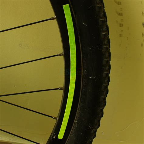 reflective bicycle mtb bicycle mountain bike reflector cycling wheel rim