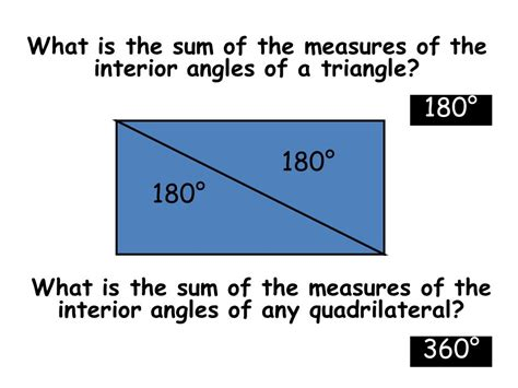 What Is The Measure Of One Interior Angle by What Does The Word Polygon Ppt
