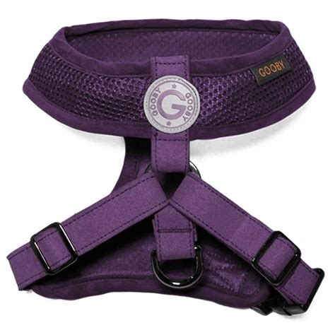 freedom harness gooby freedom harness ii purple baxterboo