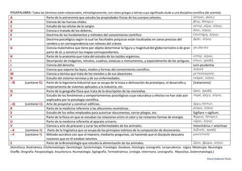 tres preguntas cientificas pasapalabra ii nombres de disciplinas cient 205 ficas el