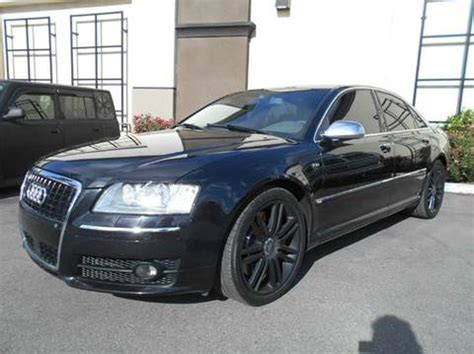 used audi s8 sale 2007 audi s8 for sale carsforsale