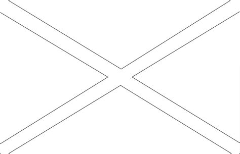 Flag Outline Coloring Pages Flag Coloring Page
