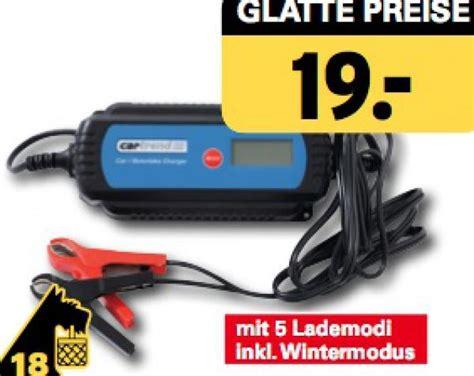 Motorrad Batterie Ladegerät Erhaltungsladung by Mikroprozessor Ladeger 228 T F 252 R Autobatterien Netto