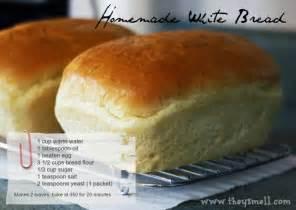 homemade white bread recipe 730 sage street