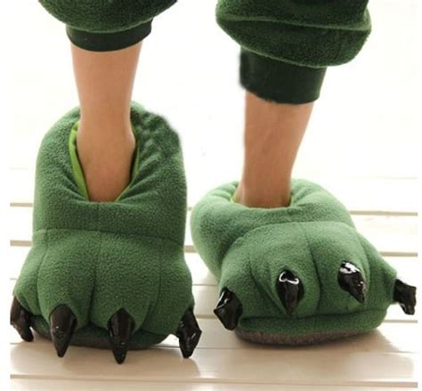 big animal slippers i want some big animal house slippers for the winter can