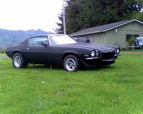 Raket Rs Snd 70 find used 1971 camaro rs split bumper runs and drives great rat rod flat black project in