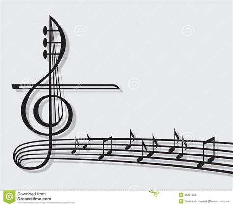 imagenes de notas musicales hermosas notas musicais imagens de stock royalty free imagem