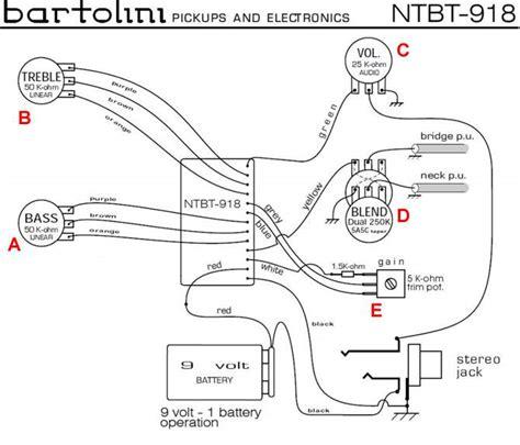 bartolini ntbt 918 pre wiring diagrams repair wiring