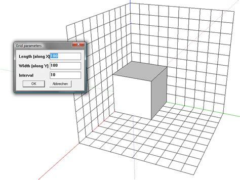 sketchup layout grid lines sketchup grid plugin
