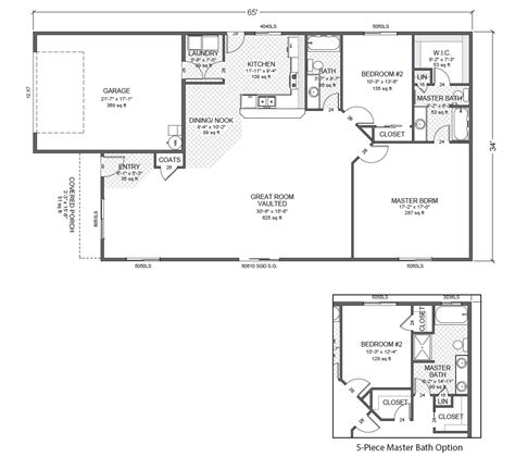 rambler floor plan north easton home plan true built home pacific