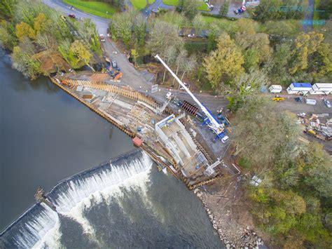 radyr weir hydroelectric scheme cardiff south wales