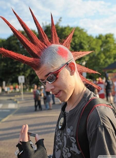 10 badass punk hairstyles for men in 2018 bestpickr