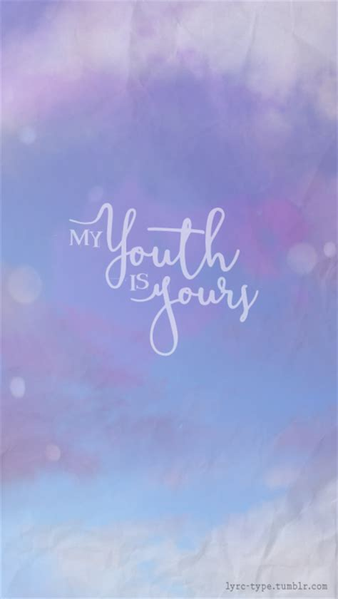 My Youth by My Youth Is Yours Youth Troye Sivan Lyrics In Type