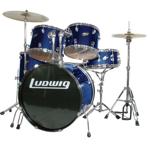 Drum Set ludwig accent combo 5 drum set blue musician s friend