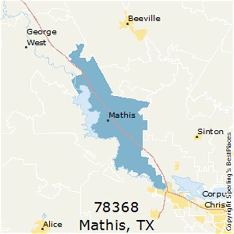 mathis texas map best places to live in mathis zip 78368 texas