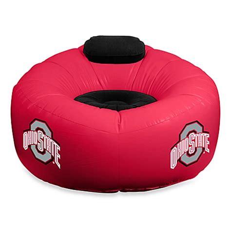 ohio state bean bag chair collegiate chair ohio state bed bath beyond
