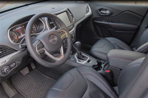 Jeep Trailhawk Interior 2014 Jeep Four Cylinder Around The Block