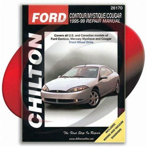 car repair manuals online pdf 1995 ford contour user handbook ford contour repair manual ebay