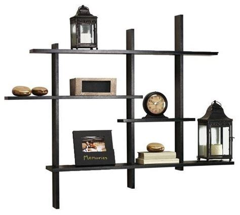 standard contemporary display shelf modern display and