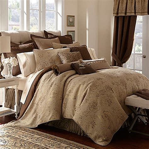 online bedding stores waterford 174 linens orla reversible comforter bed bath