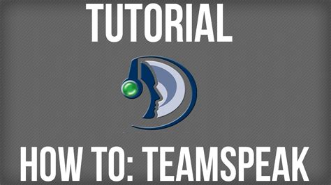 teamspeak 3 docker tutorial tutorial how to use teamspeak 3 youtube
