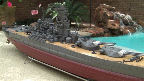 rc boats that shoot the scale modeler ijn rc yamato battleship