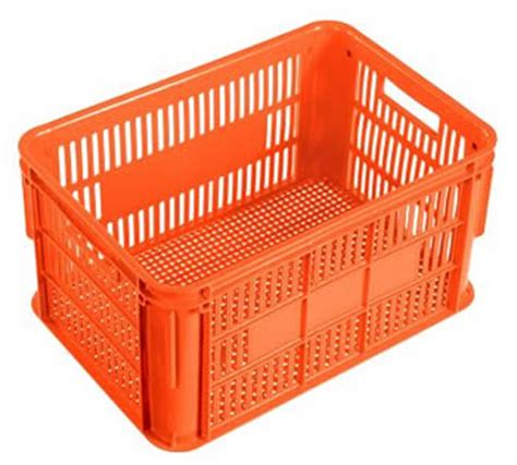 plastic crate vented stacking plastic containers