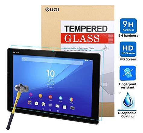 Tempered Glass Tablet Advan kugi hd premium tempered glass screen protector for sony xperia z4 tablet android authority