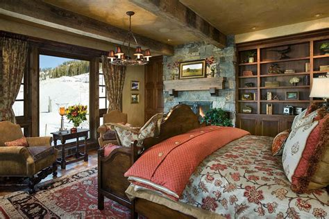 bedroom country home interiors style ideas for country