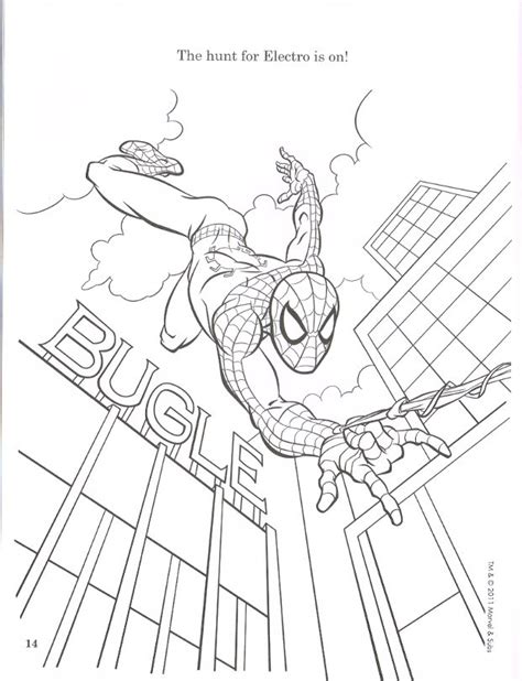 spiderfan org comics amazing spider man colouring