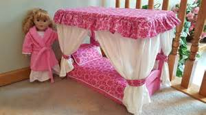 Canopy Bed American Doll Canopy Bed For American Doll Pink