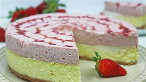 Cheesecake Using Cottage Cheese by Cottage Cheese Strawberry Mousse Cake Cheesecake With