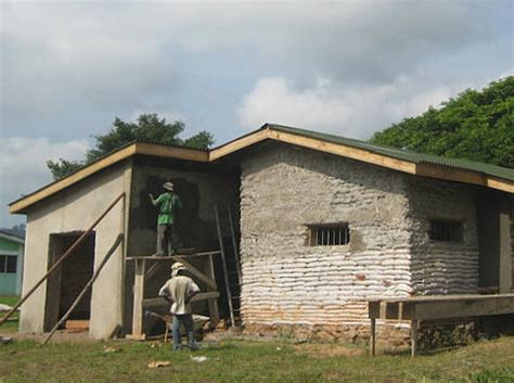 home building blogs earthbag home in ghana natural building blog