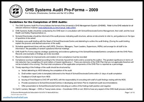 Information System Audit Report Template Awesome Cool Information System Audit Report Template Information Technology Audit Report Template Word