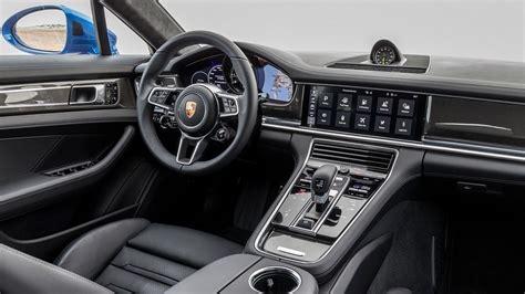 porsche panamera interieur 2018 porsche panamera 4 e hybrid interior review youtube