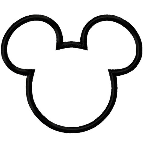 mickey mouse outline coloring page mickey mouse outline new calendar template site