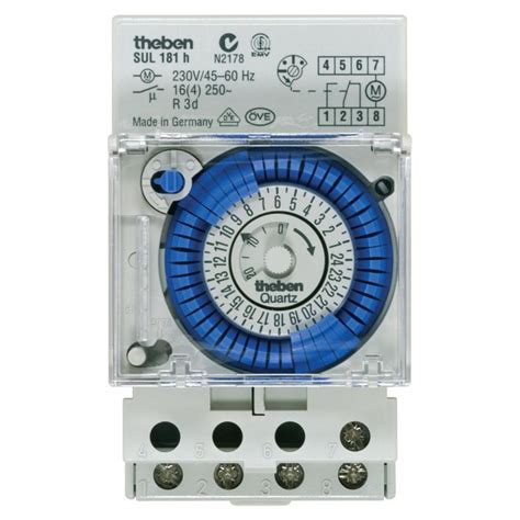 timer theben sul181h switch analog theben sul 181 h timer analog switch elevenia
