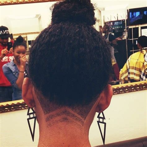 natural hair shaved nape best 25 undercut natural hair ideas on pinterest afro