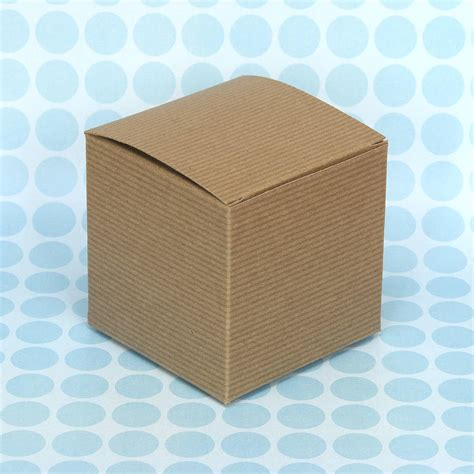 Gift Boxes From Paper - kraft brown paper gift boxes by blossom