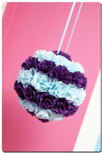 How Do You Make Tissue Paper Balls - 17 best ideas about paper flower on paper