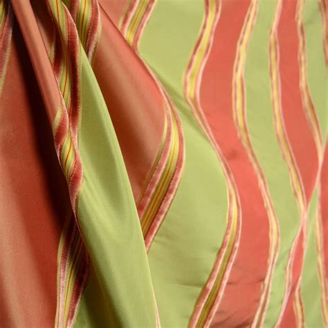 peach silk curtains worldwide ivana coral terra cotta peach olive green silk
