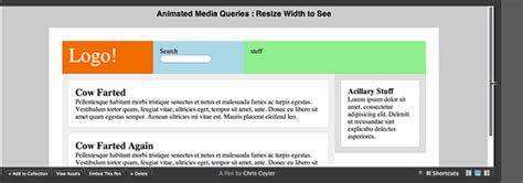 media queries tutorial css tricks animated media queries css tricks