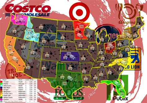 grocery store map grocery wars usa map