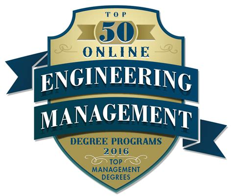 Unc System Professional Mba Programs by Top 50 Engineering Management Degree Programs 2016