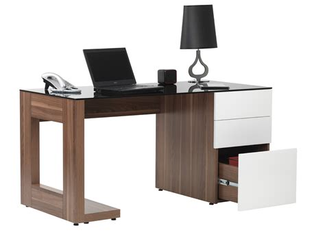 Desk For Office White High Gloss Computer Desk Computer Desks Uk